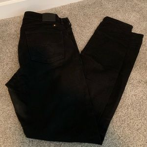 Solid Black Lucky Brand Jeans Size 8/29R